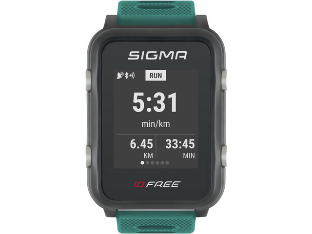 SIGMA SPORT iD.FREE Orologio Multi-Sport, verde/grigio